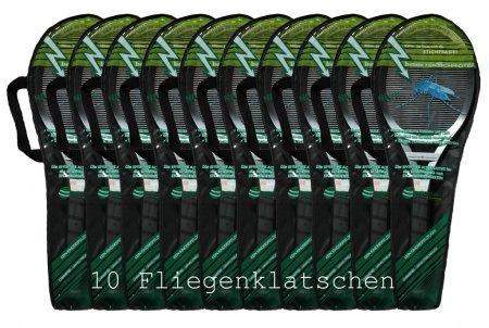 Elektrische Fliegenklatsche von Insekten Schröter 10 Stück