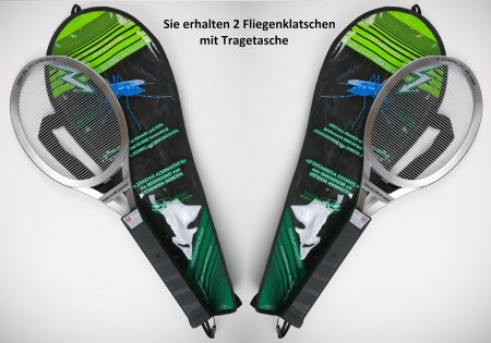 Elektrische Fliegenklatsche von Insekten-Schröter 2 Stück