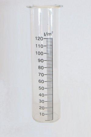 Ersatzglas für Regenmesser klein