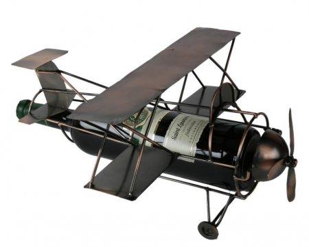 Flaschenhalter Flugzeug, Weinflaschenhalter