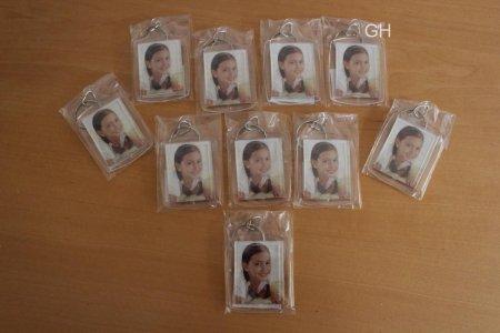 Foto, Schlüsselanhänger für Passbilder