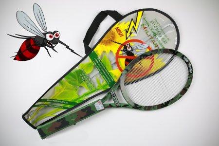 Neue, edle elektrische Fliegenklatsche Military Insekten Schröter