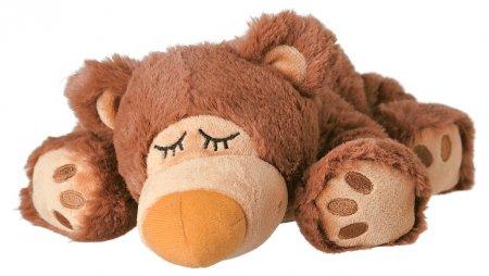 Schlafmützen Bär braun Warmies Wärmekuscheltier