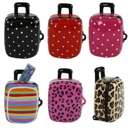 Spardose Koffer, Geldgeschenk, Urlaubskasse, Reise