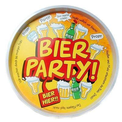 Tablett Bier Party Geburtstag, Serviertablett