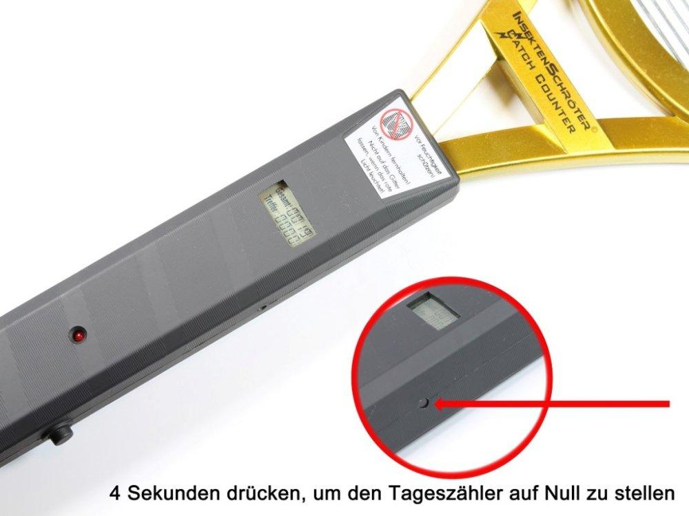 Elektrische Fliegenklatsche Schröter Weltneuheit ! mit ...