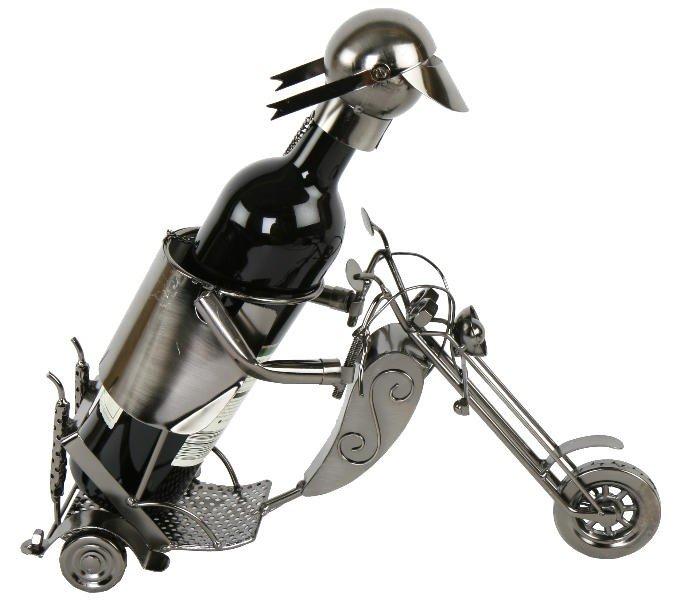 flaschenhalter motorrad weinflaschenhalter bei. Black Bedroom Furniture Sets. Home Design Ideas