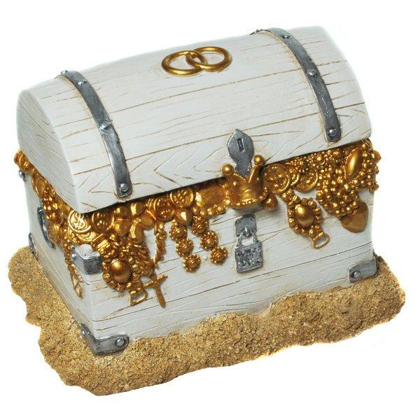 Spardose Hochzeit, Schatzkiste, Schatztruhe, Geldgeschenk