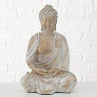 Boltze Buddha Flyn Kunstharz gold