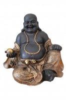 Buddha sitzend Höhe 20 cm  braun und gold verschiedene Ausführung !