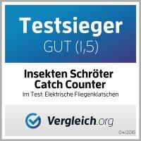 Catch Counter Insekten Schröter Elektrische Fliegenklatsche mit LCD - Zählwerk